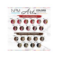 NPM ART AURORA Pigment Buze Micropigmentare 12ml, image , 2 image