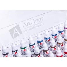 ArtLiner BURGUNDY Pigment Buze Micropigmentare 10ml, image , 4 image