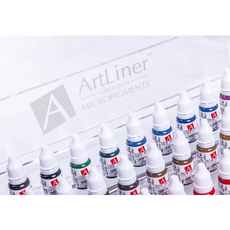 ArtLiner BLACK BROWN Pigment Sprancene Micropigmentare 10ml, image , 4 image