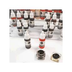 Biocutem DARK BROWN (DEEP COFFEE) Pigment Sprancene Micropigmentare 15ml, image , 4 image