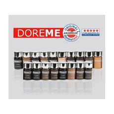 Doreme BLACK BROWN 2SHOT Pigment Sprancene Micropigmentare 15ml, image , 4 image
