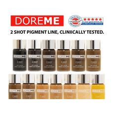 Doreme BLACK IS BLACK 2SHOT Pigment Pleoape Micropigmentare 15ml, image , 4 image