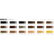 Doreme BLACK BROWN 2SHOT Pigment Sprancene Micropigmentare 15ml, image , 6 image