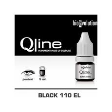 Bioevolution BLACK 110EL Organic Pigment Pleoape Micropigmentare 5ml, image