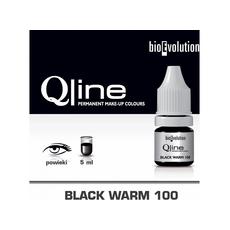 Bioevolution BLACK WARM 100 Organic Pigment Pleoape Micropigmentare 15ml, image