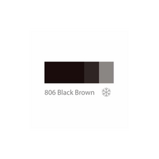 Doreme BLACK BROWN 2SHOT Pigment Sprancene Micropigmentare 15ml, image , 3 image