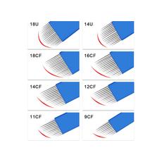 Biomaser 12CF 0.18mm Lama 12 Pini Microblading, image , 5 image