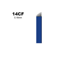 Biomaser 14CF 0.18mm Lama 14 Pini Microblading, image