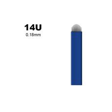 Biomaser 14U 0.18mm Lama 14 Pini Forma U Microblading, image