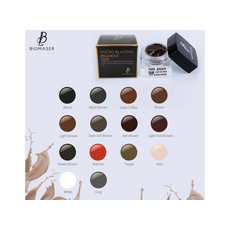 Biomaser BROWN Pigment Sprancene Microblading 5ml, image , 6 image