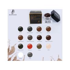 Biomaser GREEN BROWN Pigment Sprancene Microblading 5ml, image , 6 image
