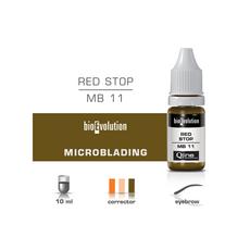 BioEvolution RED STOP Pigment Corector Microblading 10ml, image