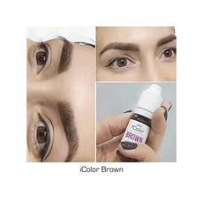iColor BROWN Pigment Sprancene Micropigmentare 10ml, image , 3 image