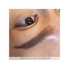 iColor BLACK AND BROWN Pigment Sprancene Micropigmentare 10ml, image , 4 image