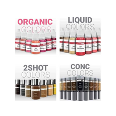 Doreme BLACK IS BLACK 2SHOT Pigment Pleoape Micropigmentare 15ml, image , 6 image