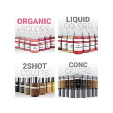 Doreme BLACK BROWN 2SHOT Pigment Sprancene Micropigmentare 15ml, image , 7 image