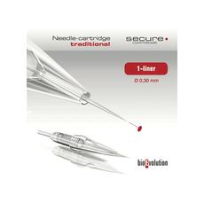 BioEvolution Secure 1 Liner 0.30mm Cartuș Micropigmentare, image