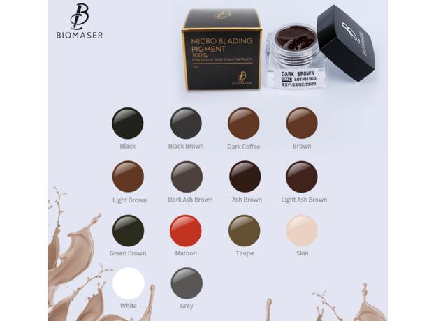 Biomaser BLACK BROWN Pigment Sprancene, image , 6 image