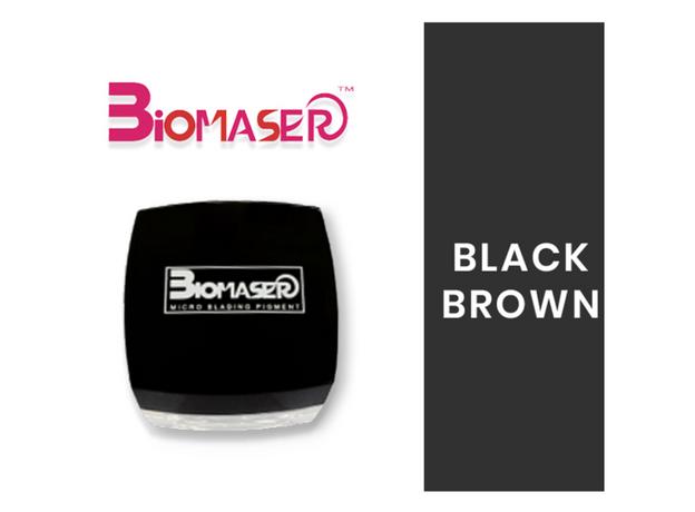 Biomaser BLACK BROWN Pigment Sprancene, image