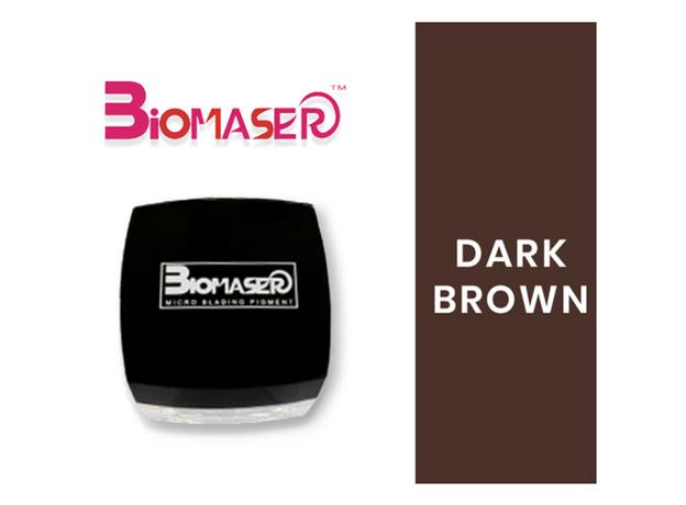 Biomaser DARK BROWN Pigment Sprancene, image