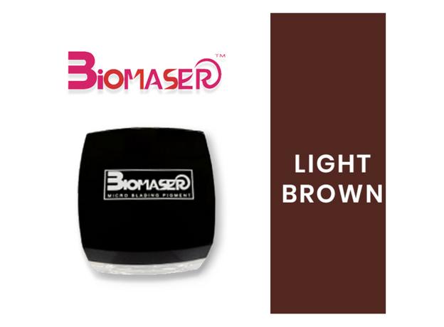 Biomaser LIGHT BROWN Pigment Sprancene, image