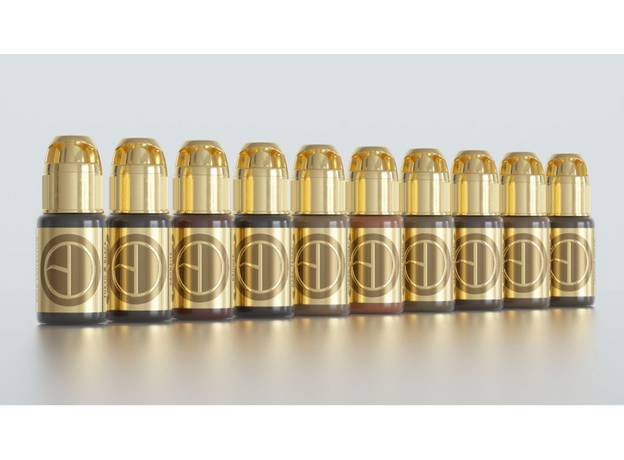Brow Daddy Gold Collection Pigmenti, image , 5 image