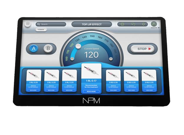 NPM GLOW 10 Aparat Micropigmentare, image , 4 image